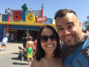 Legoland, Carlsbad with Dr. Veronica (Sister) - 4.1.2015